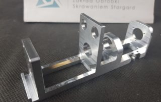 Aluminium aerospace part