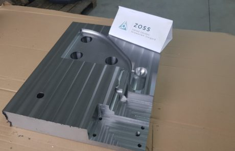 Mold with inserts 1